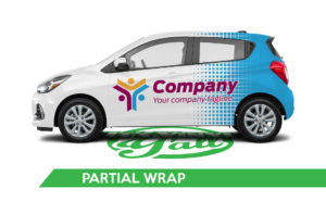 Car Vehicle Wrap - Spark Partial Wrap