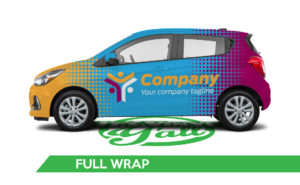Car Vehicle Wrap - Spark Full Wrap