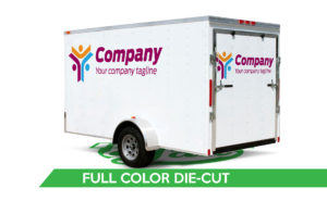 Trailer Vinyl Wrap - Full Color