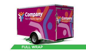 Trailer Vinyl Wrap - Full Wrap