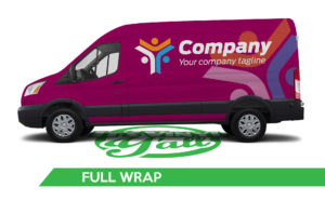 Van Vehicle Wrap - Transit Full Wrap