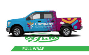 Truck Vehicle Wrap -F150 Full Wrap